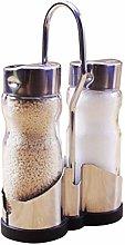BESTONZON Salt and Pepper Shaker 2-Piece Seasoning