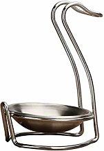 BESTonZON Soup Spoon Rest Kitchen Stainless Steel