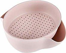 BESTONZON Strainer Bowl Set 2-in-1 Food Wash
