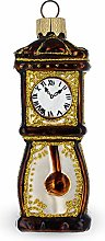 BESTPYSANKY Grandfather Clock Glass Christmas