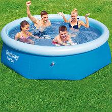 Bestway Inflatable Fast Set Swimming Pool - 8 feet