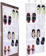 BESTZY 24 Pockets Over-the-Door Organizer Hanging
