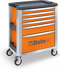 Beta C39-6/O C39/6-O 6 Drawer Tool Cabinet - Orange