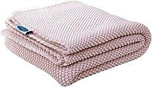 Betires Home Blanket Baby Pink 90x 90cm