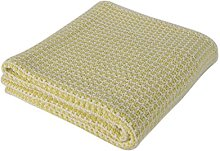 Betires Home Blanket Baby Yellow 90 x 90 cm