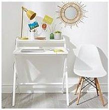 Betsy Folding Desk - White