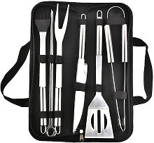 BETT 5 Pcs Portable Barbecue Kit ? Stainless Steel