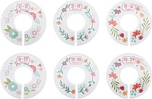 BETTE Baby Size Closet Dividers Nursery Clothes