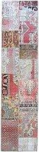 Better & Best 2731045–Carpet Runner Patchwork 300x 75cm with Pieces Kilim