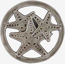 Better & Best Enamelled Metal Trivet, Round,
