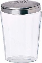 Better & Best Oval Bath Canister Letter M, Oval