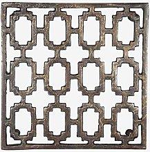 Better & Best Oxide Design Metal Trivet, Square,