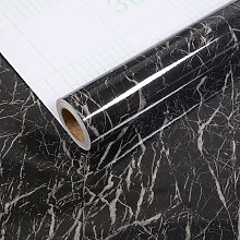 Betterlife - BETTE Black Marble Wall Adhesive