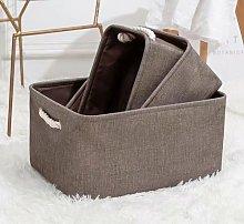 Betterlife Linen Fabric Storage Linen Cart