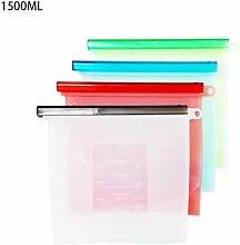 BetterLife Reusable Silicone Food Storage Bag,