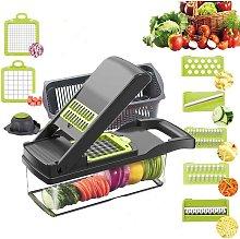 Betterlife Vegetable Chopper Slicer, Food Chopper