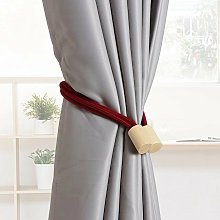 Betterlifegb - 1 pair of curtain knitted rope