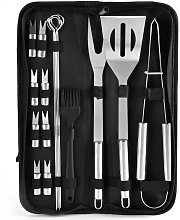 Betterlifegb - 16pcs Barbecue Tool, Stainless
