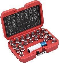 Betterlifegb - 21 Piece Rim Lock Socket Set for