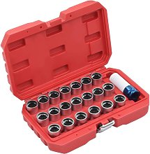 Betterlifegb - 21 Piece Wheel Lock Tool Set for