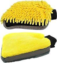 Betterlifegb - 2PCS Car Wash Gloves, Wash Mitt