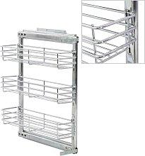 Betterlifegb - 3-Tier Pull-out Kitchen Wire Basket