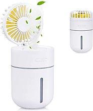 Betterlifegb - 400ml Mini Air Humidifier with Fan,