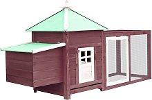 Betterlifegb - Chicken Coop with Nest Box Mocha