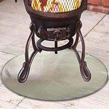 Betterlifegb - Fire pit mat - Grill Mat - Gas BBQ