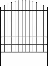 Betterlifegb - Garden Fence with Spear Top