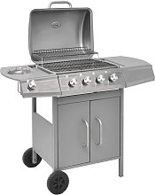Betterlifegb - Gas Barbecue Grill 4+1 Cooking Zone