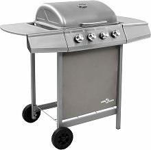 Betterlifegb - Gas BBQ Grill with 4 Burners