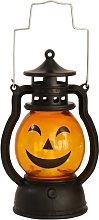 Betterlifegb - Halloween Oil Lamp Portable Pumpkin