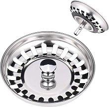 Betterlifegb - Kitchen Sink Strainer, Stainless