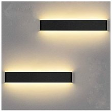 Betterlifegb - LED Interior Wall Light 36cm 2 Pack
