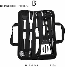 Betterlifegb - Outdoor Barbecue BBQ Tool Set,