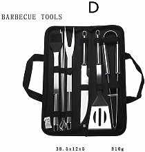 Betterlifegb - Outdoor BBQ BBQ Tool Set, Stainless