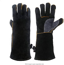 Betterlifegb - Oven Gloves, Leather Barbecue