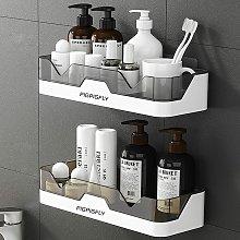 Betterlifegb - Plastic Shower Shelf Shower Basket,