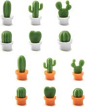Betterlifegb - Set of 12 pieces cactus loving 3d