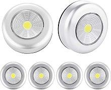 Betterlifegb - Spot LED closet lamp, 6pcs night