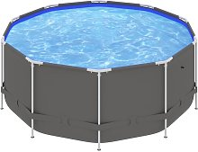 Betterlifegb - Swimming Pool with Steel Frame