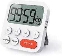 Betterlifegb - Timer Kitchen Digital Timer With