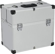 Betterlifegb - Tool Case 38x22.5x34 cm Silver
