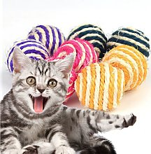 Betterlifegb - Toy for Cat Sisal Ball Toy Funny