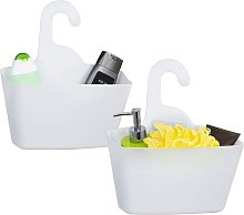Betterlifegb - White Plastic Hanging Shower