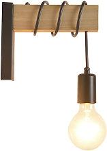 Betterlifegb - Wooden Wall Wall Lamp Wall Lamp