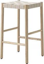 Betty TK7 High stool - / H 60 cm - Hand-woven