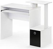 Bettyann Computer Desk Zipcode Design Colour: White