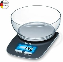 Beurer KS25 Electronic Kitchen Scale and Bowl -